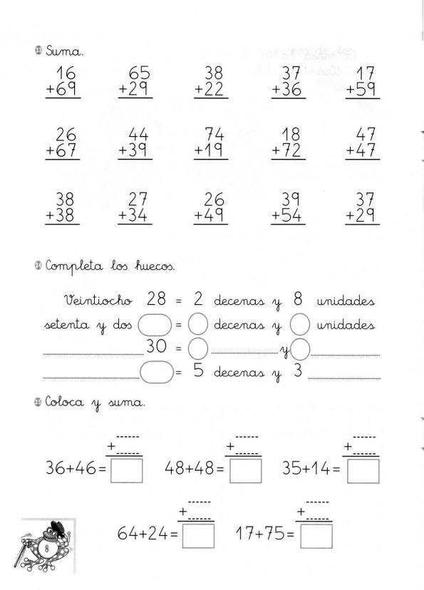 Cuaderno Dylar Sumas con llevadas009