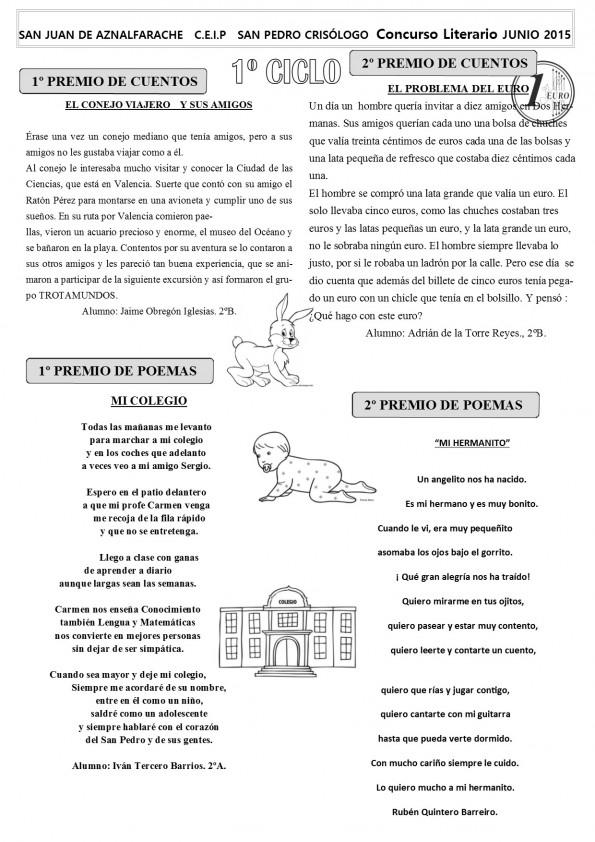B N CONCURSO LITERARIO 1