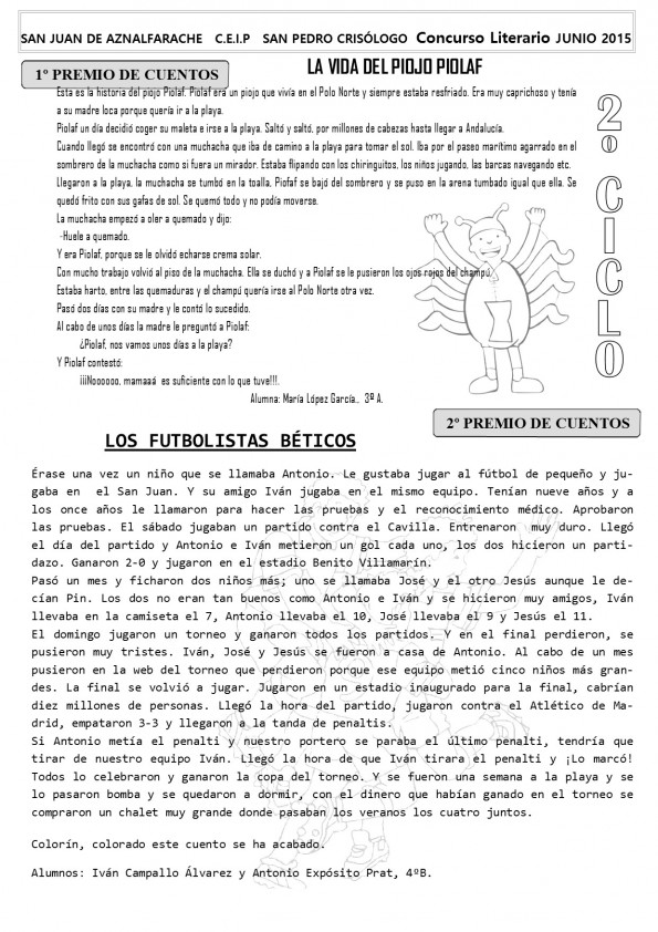 B N CONCURSO LITERARIO 2