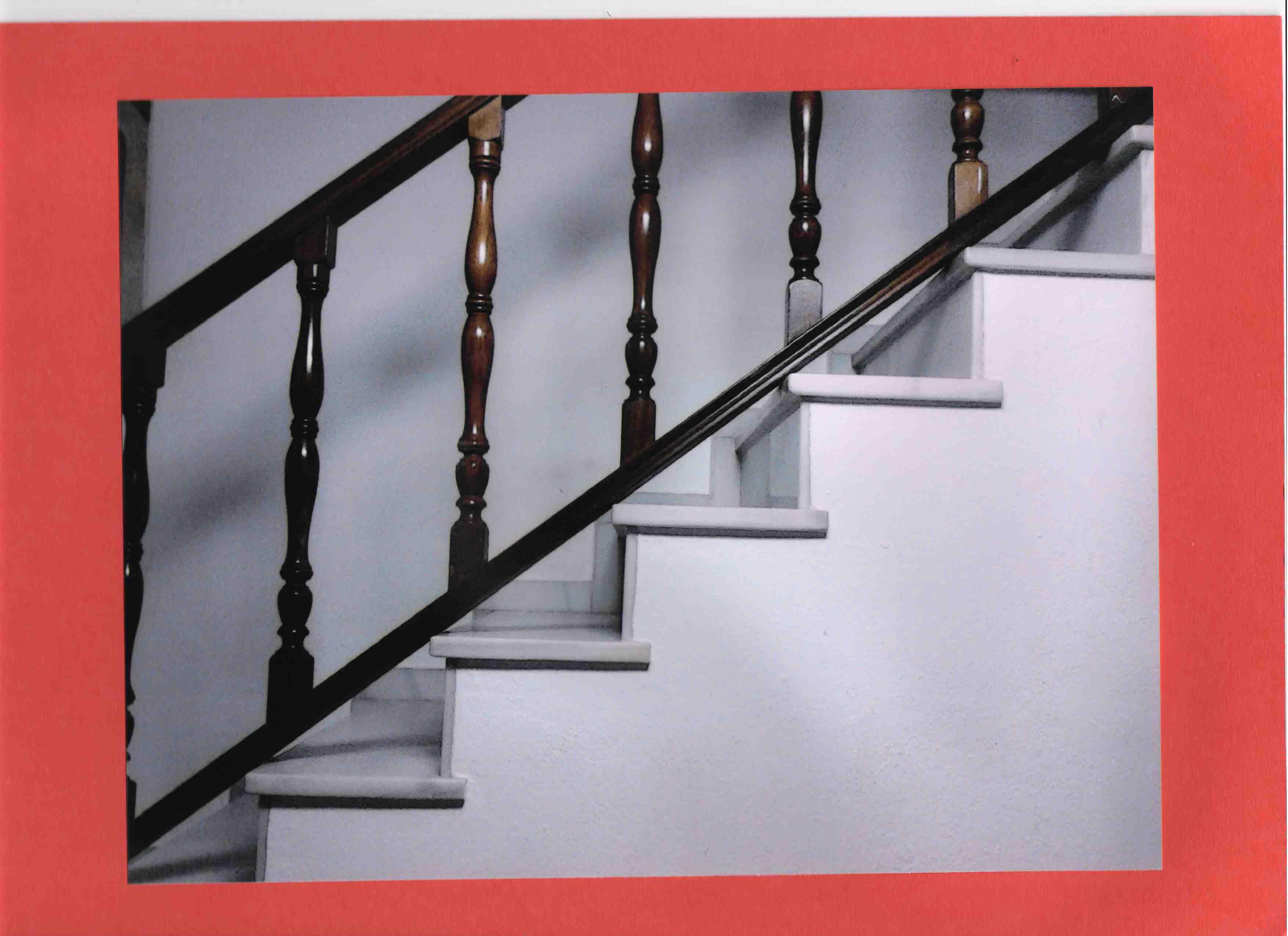 Subiendo por los ángulos rectos. Lucía Acla Ortega, 4º B. Primer premio de fotografía.