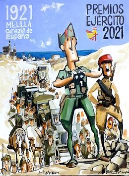 NUESTRA ALUMNA MARÍA MACÍAS SUÁREZ GANADORA DE LA MODALIDAD DE DIBUJO DE LOS PREMIOS EJÉRCITO 2021